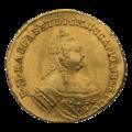 INC-1757-a Андреевский червонец 1753 г. Елизавета Петровна (аверс).png