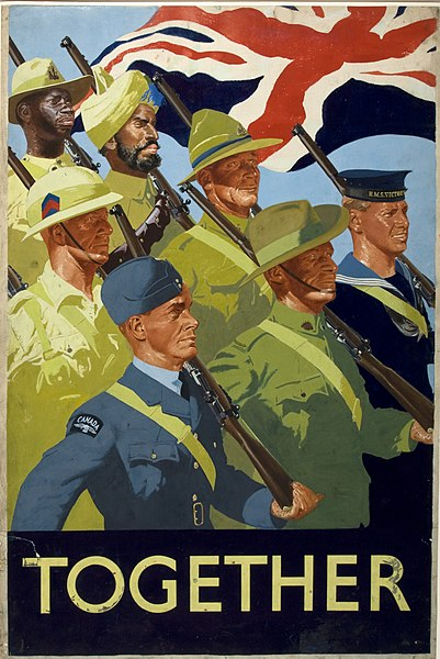 https://upload.wikimedia.org/wikipedia/commons/thumb/5/52/INF3-318_Unity_of_Strength_Together_%28British_Empire_servicemen%29.jpg/401px-INF3-318_Unity_of_Strength_Together_%28British_Empire_servicemen%29.jpg