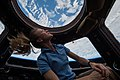 ISS-37 Karen Nyberg in the Cupola module.jpg
