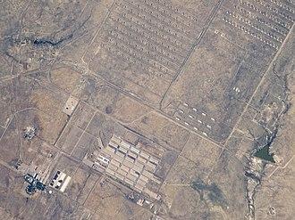 Pueblo Depot Activity - Image: ISS017 E 18075 Pueblo Chemical Depot