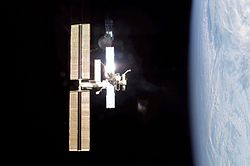 ISS from Endeavour Exp4