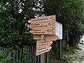 ITA — Trentino-Südtirol – Autonome Provinz Bozen-Südtirol — Gemeinde Sexten (Wegweiserschilder für Wanderer) 2020.JPG