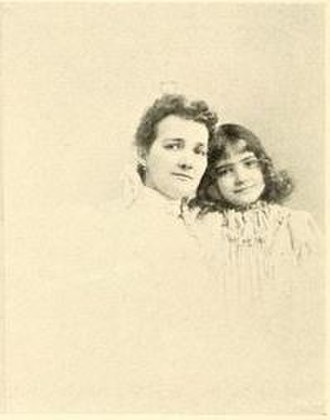 William S. Linton - Ida M. Lowry and her daughter Elsie