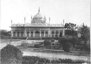 Rampur, Uttar Pradesh - Imambara, Fort of Rampur, Uttar Pradesh, ca.1911.