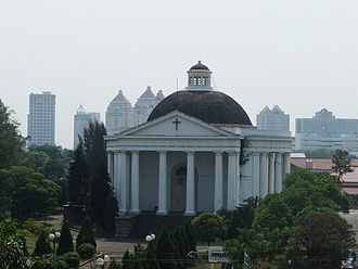 Christianity in Indonesia - Immanuel Church in Jakarta