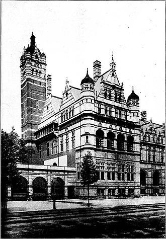 Thomas Edward Collcutt - Image: Imperial Institute London 1