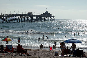 Imperial Beach, California - The pier of Imperial Beach