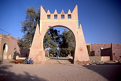 City gate of In Salah.