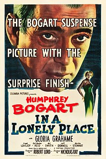 <i>In a Lonely Place</i> 1950 film by Nicholas Ray