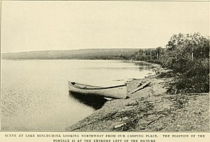George Byron Gordon (archaeologist) - Scene at Lake Minchumina (In the Alaskan Wilderness)