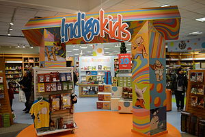 Indigo Books and Music - Indigo Kids, Indigo Eaton Centre in December 2010