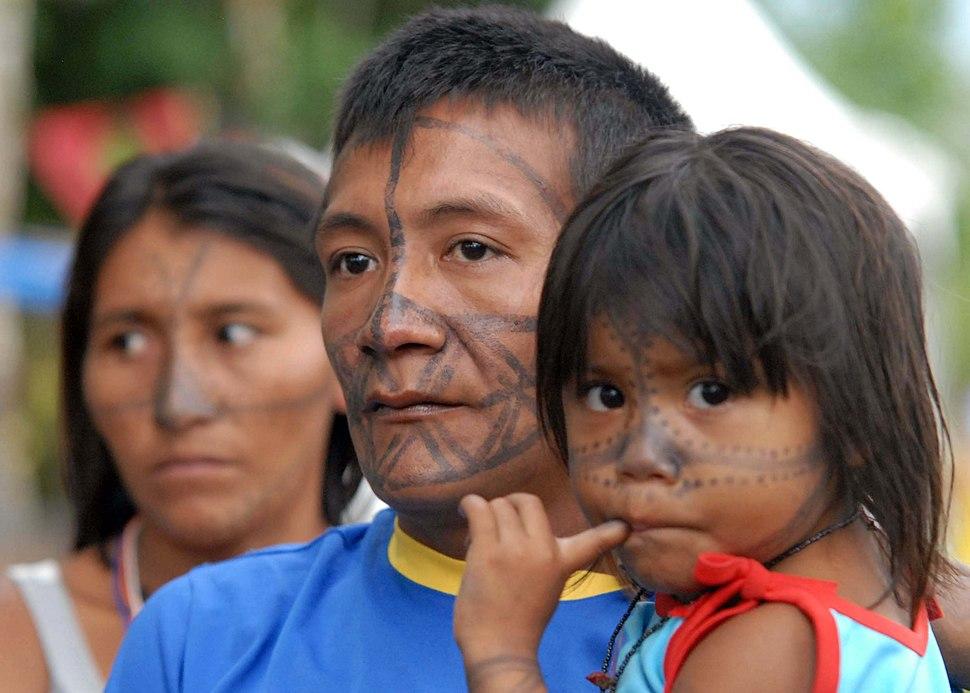 Indios da tribo Tucuxi participam do Fórum Social Mundial 1006 FP6469