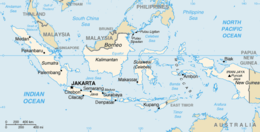 Cartina Geografica Dell Indonesia.Indonesia Wikipedia