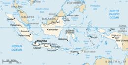 Indonesia - Mappa