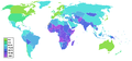 Infant mortality rate world map.PNG