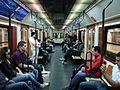 Interior de coche serie 5000 del Metro de Madrid (6444579079).jpg