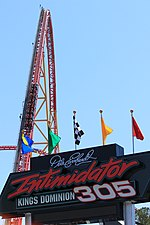 Intimidator 305 lift hill and sign.jpg