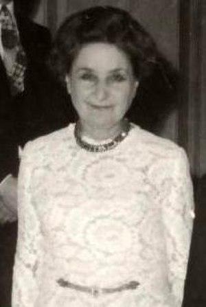 Konstantinos Tsatsos - Ioanna Seferiádou, wife