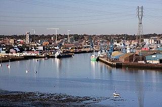 Port of Ipswich Major port in Suffolk, England