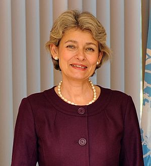 United Nations Secretary-General selection, 2016 - Image: Irina Bokova UNESCO