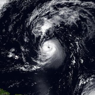 Hurricane Iris (1995) Category 2 Atlantic hurricane in 1995