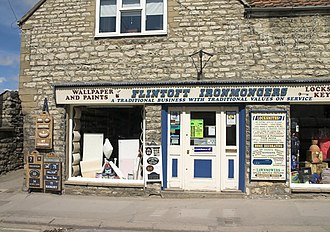 Ironmongery - An ironmonger's shop in Pickering, North Yorkshire.