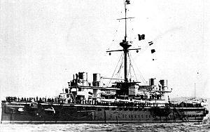 Italian ironclad Lepanto - Image: Italian battleship Lepanto