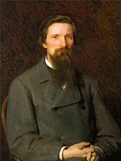 Ivan N. Kramskoi - Portrait of the Artist Carl Jacob Wilhelm Huns (1878).jpg