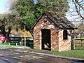 Iwerne Courtney, bus shelter - geograph.org.uk - 1152973.jpg