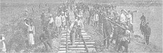 Ottoman Railway Company - Construction of the railway (1860s)