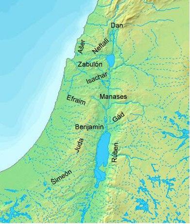 Izrael kmeny