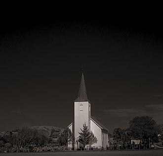Jøssund Church - Image: Jøssund kirke 2013