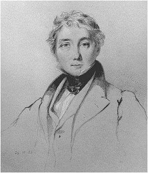 James Baillie Fraser - Portrait by William Brockedon (1833)