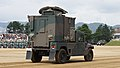JGSDF High Mobility Vehicle(06-7523) with shelter of JMRC-C6-B right rear view at Camp Itami October 9, 2016 02.jpg