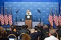JIll Biden speaking at the Cancer Moonshot Summit in 2016.jpg
