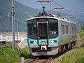 JR West 125-15 and 16 approaching Higashi Obama station.jpg