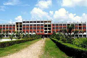 Jessore University of Science & Technology - JUST's Academic Building