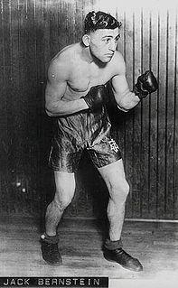 Jack Bernstein American boxer