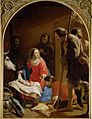 Jacob van Oost (I) - Adoration of the Shepherds (St Anthony in the background).jpg