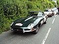 Jaguar Type E Roadster (1963) - Porsche 911 Turbo (1978) - Rallye des Princesses 2014.jpg