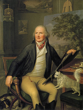 Jacob Philipp Hackert - Hackert, painted by Augusto Nicodemo, 1797