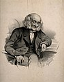 James Coleman, aged 102. Lithograph by T. H. Maguire, 1852. Wellcome V0007041.jpg