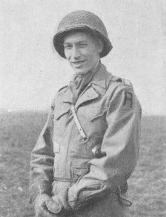 James Lawton Collins Jr. - Lieutenant Colonel James L. Collins Jr., as commander of the 957th Field Artillery Battalion