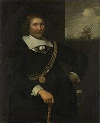Jan Cornelisz Meppel (1609-69). Lieutenant-admiral of Holland and West-Friesland