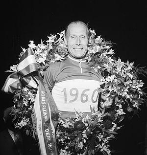 Jan Derksen - Jan Derksen in 1960