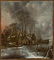 Jan van de Cappelle - Winter aan de vaart - 0396 - Rijksmuseum Twenthe.jpg