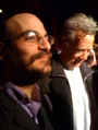 Jay Dobkin of The Living Theatre and Ray Manzarek of The Doors, December 18 2010.png