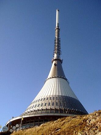 Liberec Region - Ještěd Tower