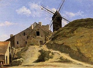 Un moulin à Montmartre