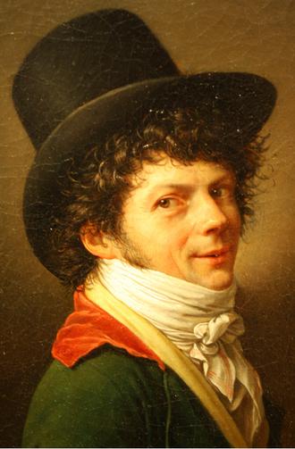 Jean-Baptiste Wicar - Self-Portrait by Jean-Baptiste Wicar, 1796